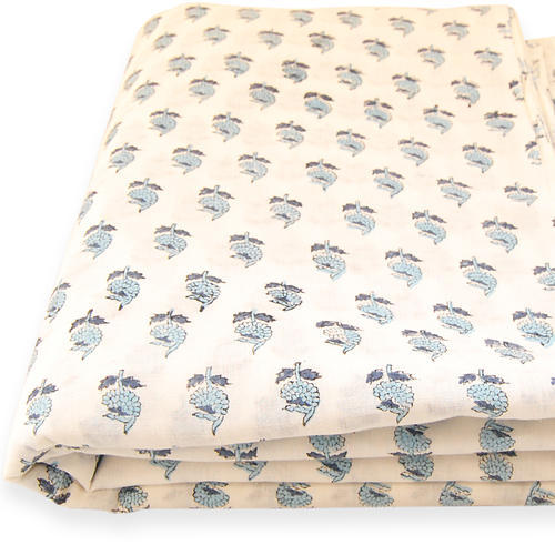Indian Hand Block Printed Multi Patterns 100/% Cotton /& Voile Women Dress Fabric