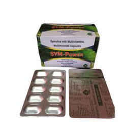 Spirulina With Multivitamin And Multimineral Capsules