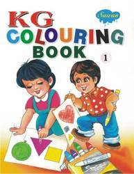 KG Colouring Book 1