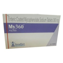 Enteric Coated Mycophenolate Sodium Tablet