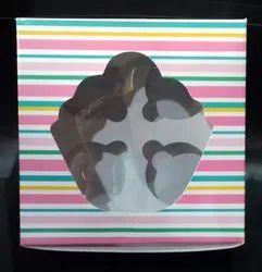 4pc Cup Cake Box