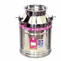 25 Litre Stainless Steel Milk Can