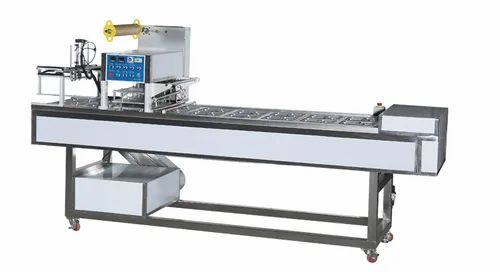 Fully Automatic Meal Tray Sealing Machine, ट्रे सीलर मशीन - Mahalaxmi  Machines, Jaipur | ID: 22211564373