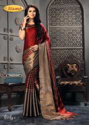 Pure Cotton Silk Saree by Anantrang Creation