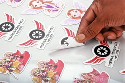 Any Shape Sticker Cutting And Printing Services