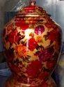 Printed Rajwadi Copper Water Pot For Home