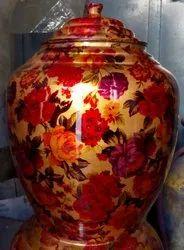 Rajwadi Copper Water Pot