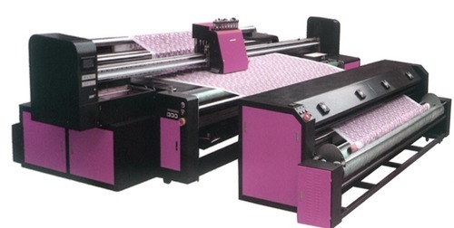 Position Printing Machine for Embroidery Fabrics