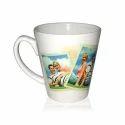Sublimation White Printed Mug