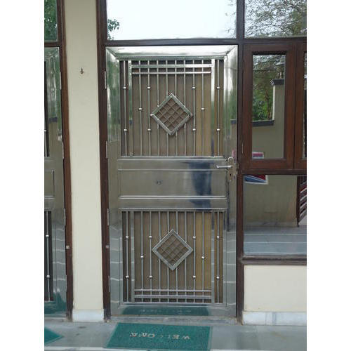 Silver Stainless Steel Single Gate, Rs 16000 /piece, H. R. ... on