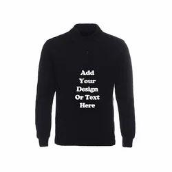 Plain Full Sleeve T-Shirt