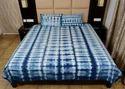Shibori Tie Dye Bedspread with 2 Pillow Covers