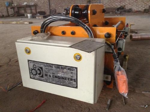 M S Engineers Heavy Duty Electric Wire Rope Hoist
