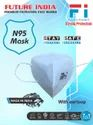 Future India N95 Mask With Earloop, Number Of Layers: 5 Layers