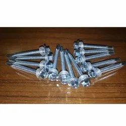 Carbon Steel Galvanized Hex Head Self Drilling Screw, Packaging Type: Packet, Size: 19 Mm To 100 Mm