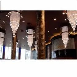 Fiber Optic Chandelier Light