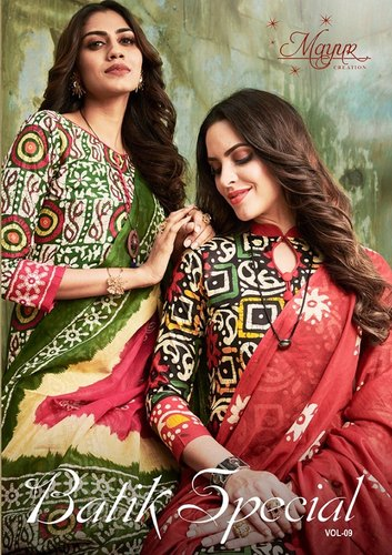 cc65adb76a Formal Mayur Batik Special Cotton Salwar Suit, Rs 300 /piece | ID ...