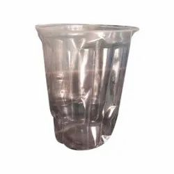 Plain Plastic Disposable Transparent Glasses, Capacity Gram: 180 Ml
