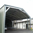 Mild Steel Roofing Shed
