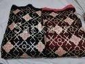 Satkaar Embroidered Velvet Fabrics