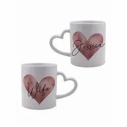Sublimation Printed Coffee Mug, For Gifting, Capacity: 350 Ml