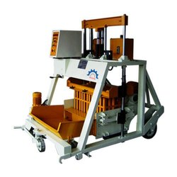 Portable Hollow Block Making Machine