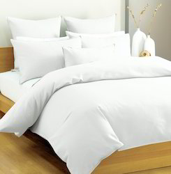 Beau Plain Cotton Hotel Bed Sheets