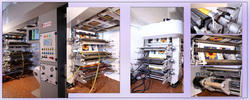 CI Flexo Printing Presses With Sleeve System