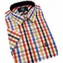 Mens Check Cotton Shirt