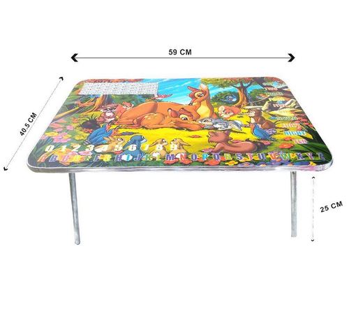 online store 2d4a4 7c8c4 Zomaark Foldable Portable Mini Wooden Kids Bed Table