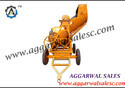 Concrete Mixer with Hopper