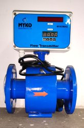 Electromagnetic Flow Meter Teflon