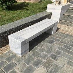 Marble Outdoor Garden Benches