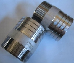 Nascent Stainless Steel Socket Weld Welding Nipple Fitting 304H, for Paper & Pulp Companies