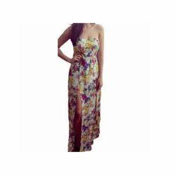 Floral Long Corset