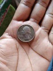Quarter Dollar Usa Liberty 1776 To 1976 Pen Card Service