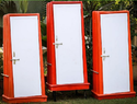 Roto Molded HDPE Swachh Sulabh Portable Mobile Bathroom