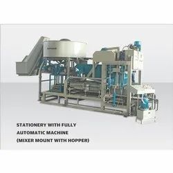 Harivansh Fully Automatic Mixer Mount With Hopper Machine, For Construction, Drum Capacity: 450 L