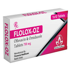 Ofloxacin & Ornidazole Tablets 700mg