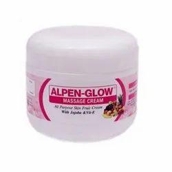Herbal ALPEN-GLOW Massage Cream, Packaging Type: Poly Thin