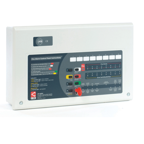 4 Zone CFP Alarm Sense Two Wire Fire Alarm Panel