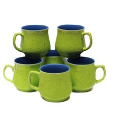 Green Matt Coffee Cups