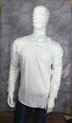 15 colors Casual Men Cotton Kurta, Chinese, Size/Dimension: M L XL XXL