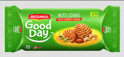 Britannia New Good Day Nuts Cookie Biscuits
