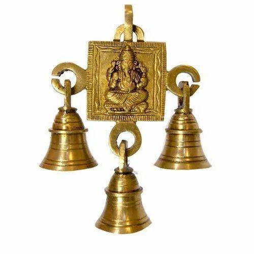 Metal Brass Hanging Door Decorative Bells