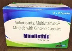 Medicoethic Multivitamin Capsules, Packaging Size: 10 x 10 Capsule