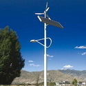 Wind Solar Light Pole