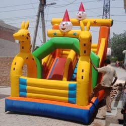 Inflatable Jumping Bounce Slides