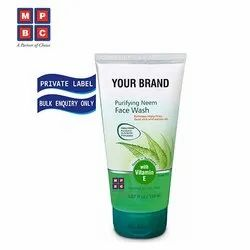 OEM Or Private Label Purifying Neem Face Wash