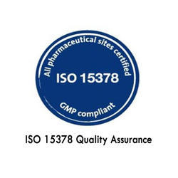 ISO 15378:2011 Primary Packaging Materials For Medicinal Products Certification Services